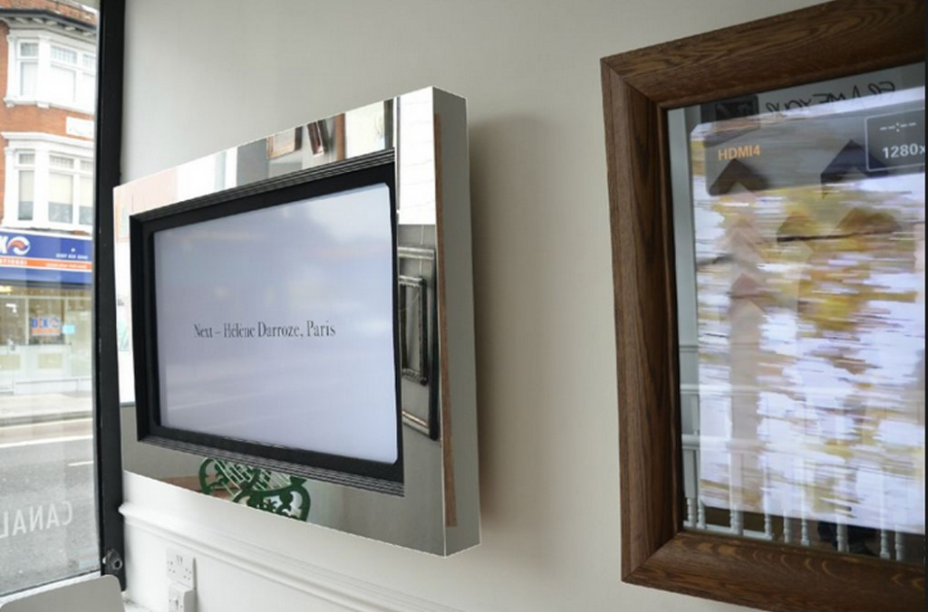 Atractivo Picture Frames Around Tv Bandera - Ideas Personalizadas de ...