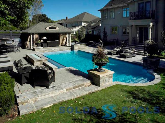 Best Backyard Family Pools : Solda Pools ? 2011 Gold Award, Best Family Recreation Centre