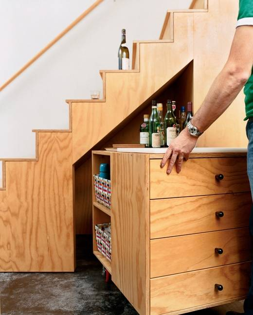 under stairs wine rack plans