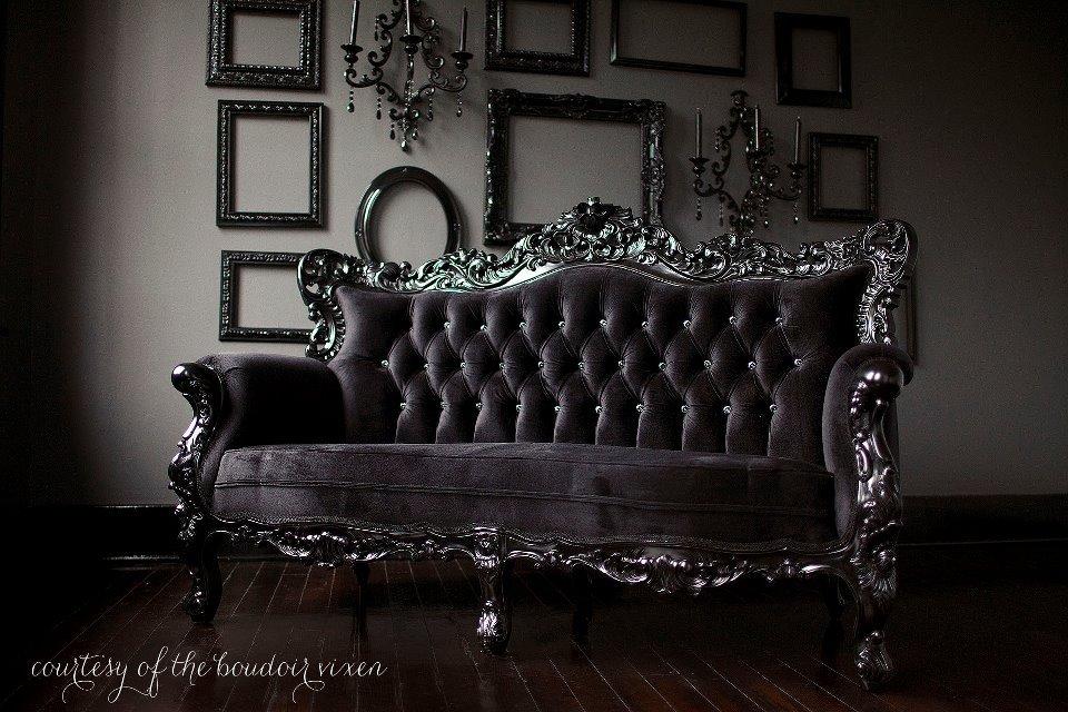 Modern Gothic Decor black goth furniture modern interior decorating ideas | fresh