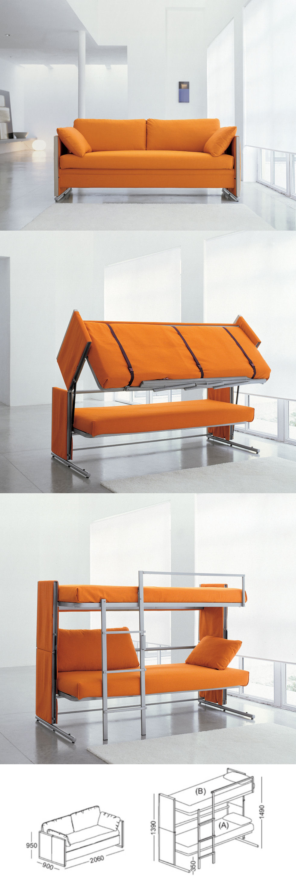 Bonbon Sofa Bunk Bed Alfa Img Showing Bon Bon Sofa Bed Convertible .