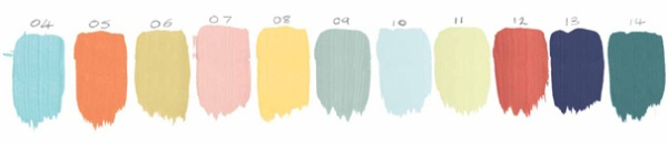 Dulux Colour of the Year evolution