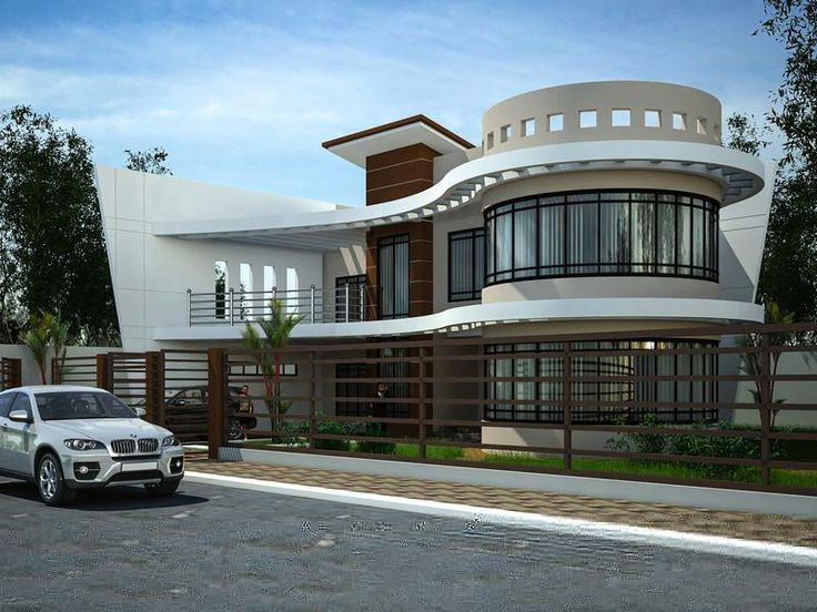 3 modern homes with turrets mecc interiors inc for Home designs with turrets