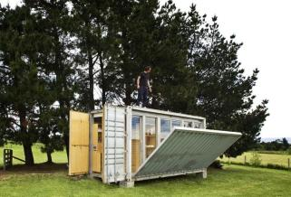 shipping container garden rooms | mecc interiors | design bites