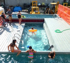 shipping container pools and cabanas | mecc interiors | design bites