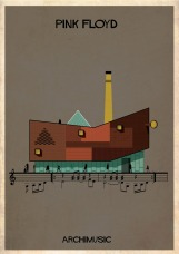 hit songs reimagined as buildings | @meccinteriors | design bites