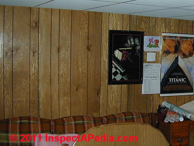 Old school wall paneling