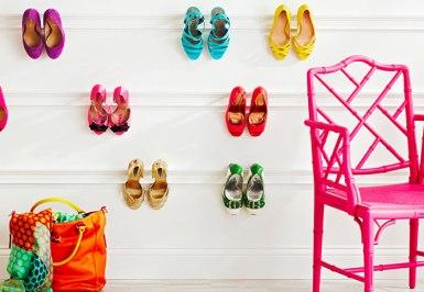 shoes as decorative art   @meccinteriors   design bites