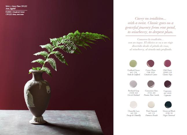benjamin moore sees green for 2015 | @meccinteriors | design bites