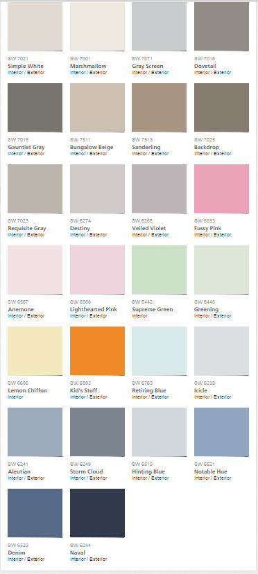 Colour trends mecc interiors design bites for Pottery barn teen paint colors