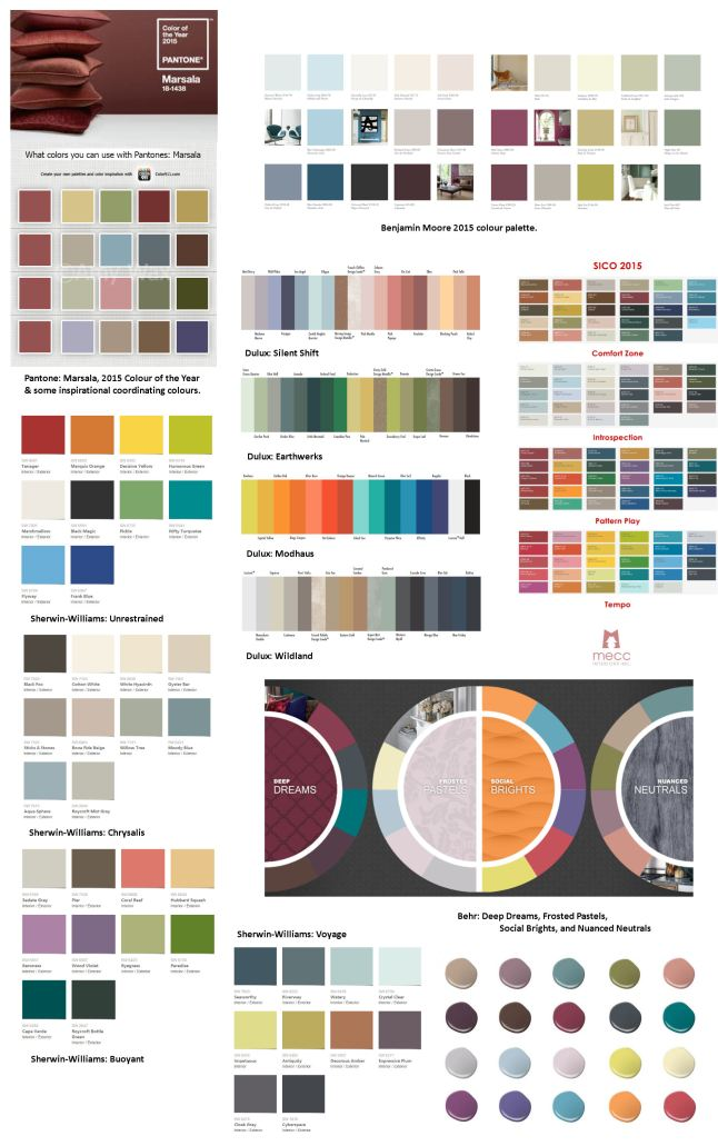 the 2015 colour story   @meccinteriors   design bites