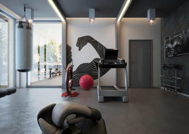 Creating the perfect small space home gym mecc interiors inc.