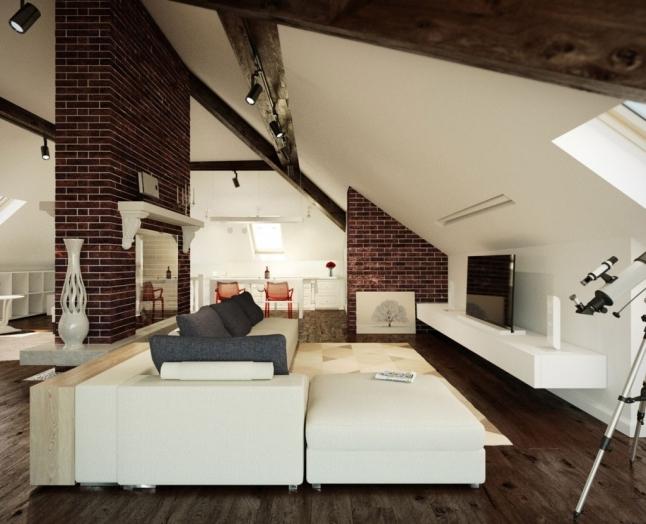 Attic Loft Bedroom Slanted Walls