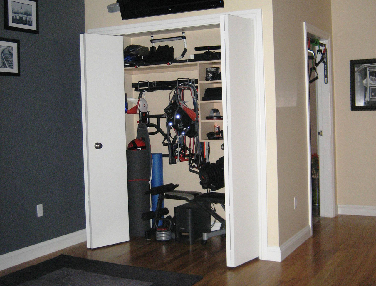 Creating the perfect small space home gym mecc interiors inc