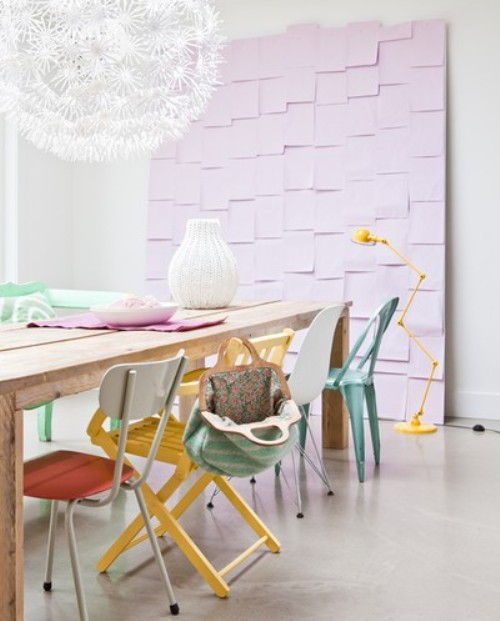 Via Lonny Dining Chairs Need Not Match To Make A Powerful Statement