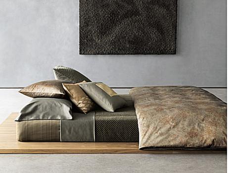 Oxidized paisley bedding from calvin klein