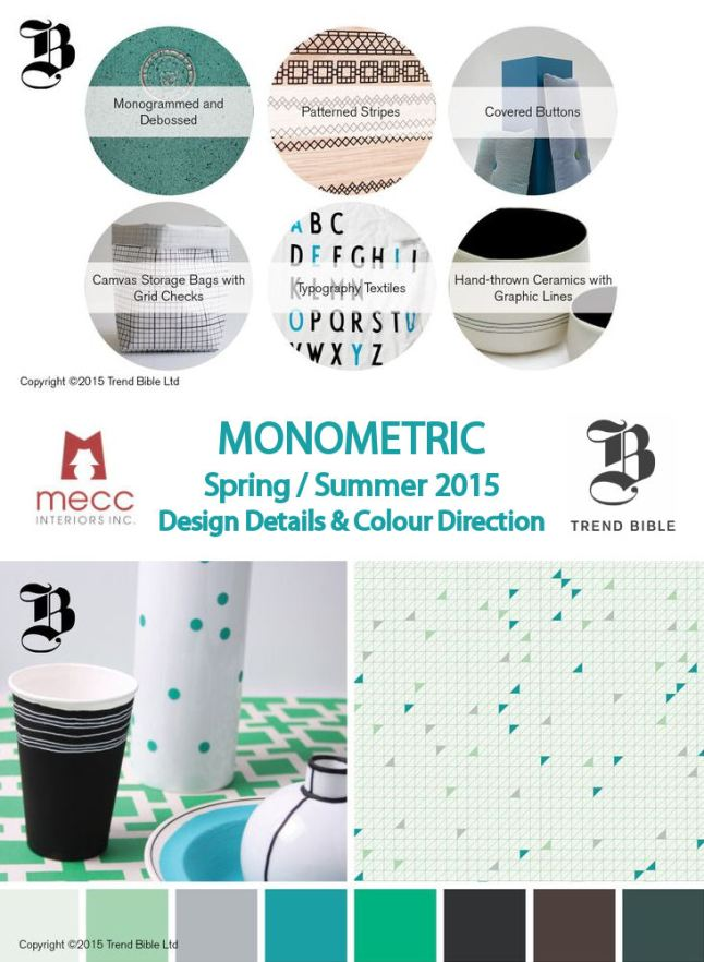 tuesday trending: spring/summer 2015 with trend bible | @meccinteriors | design bites