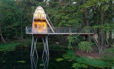 who said treehouses need trees? | @meccinteriors | design bites