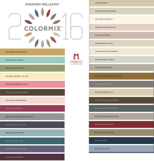 2016 colormix   @meccinteriors   design bites