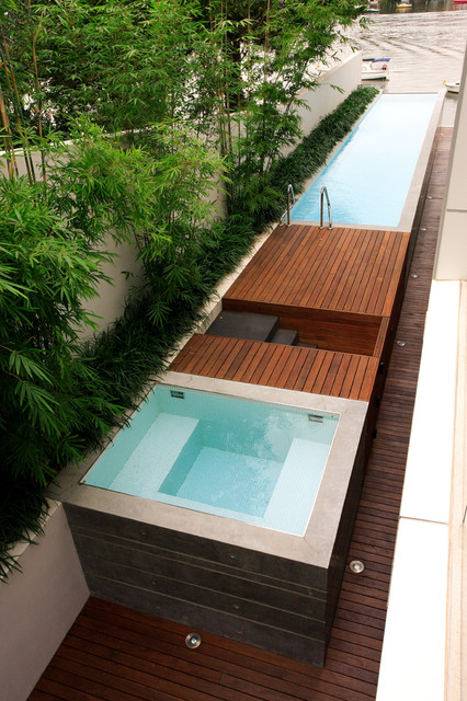 leaning out the pool | @meccinteriors | design bites