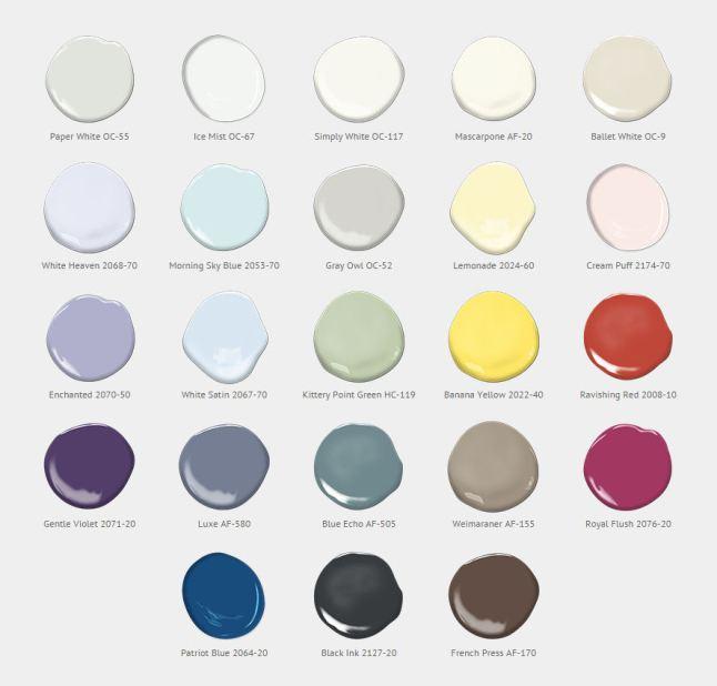 2016 colour of the year: benjamin moore | @meccinteriors | design bites