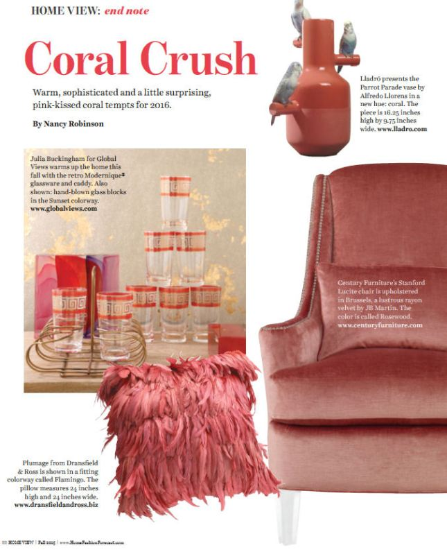 tuesday trending: home view's 2016 colour watch | @meccinteriors | design bites