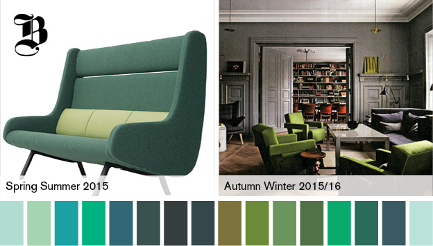 the evolution of green | @meccinteriors | design bites