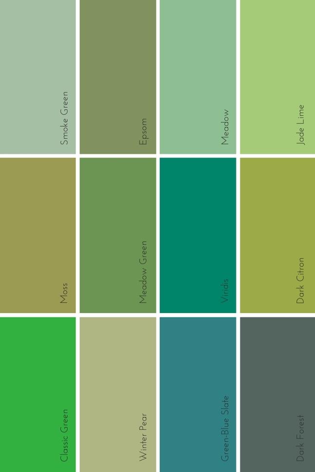 the evolution of green | @meccinteriors | design bites