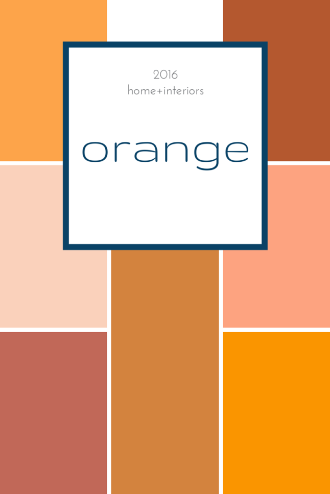 tuesday trending: 2016 colour family directions for your home | @meccinteriors | design bites