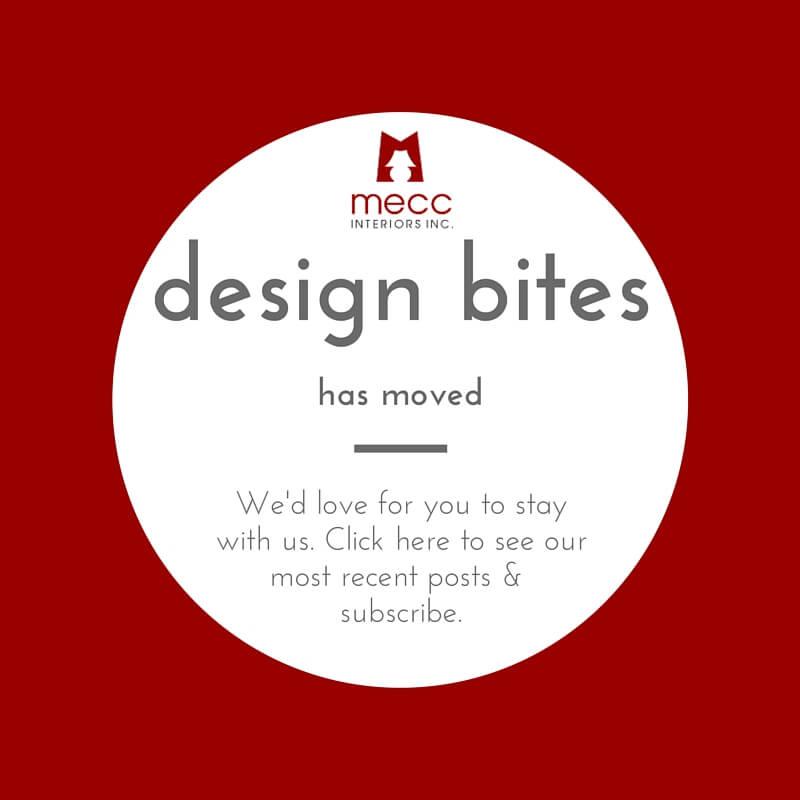 design bites has a new home | @meccinteriors | design bites